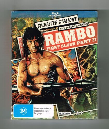 Rambo - First Blood II (Limited Edition) Blu-ray Brand New & Sealed
