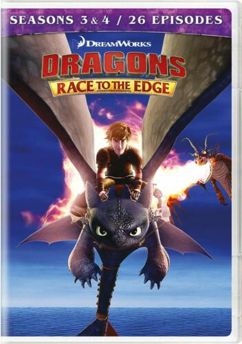 Dragons: Race to the Edge - Seasons 3 & 4 DVD New Sealed