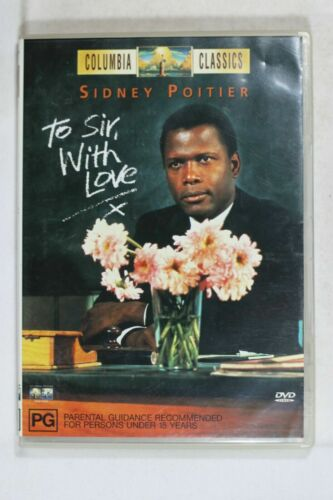 To Sir With Love region 4 DVD (1967 Sidney Poitier   Pre-owned - R 4 (D506)