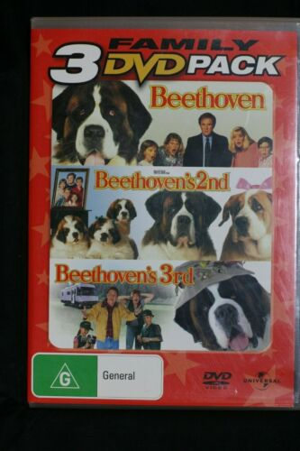 Beethoven  Beethoven 2nd Beethoven 3rd - (3-Disc Set) R4 2 Pre-owned (D507