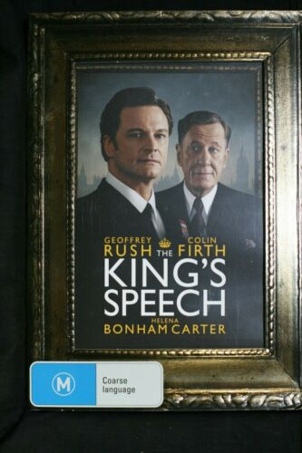 The King's Speech Collector's Edition DVD 2009 - R4 Pre-owned Slipcase (D508