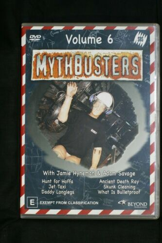 Mythbusters : Vol 6 (DVD, 2005) R 4   Pre-owned (D509