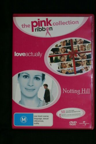 Love Actually / Notting Hill - 2 Disc  R4 Pre-owned (D509