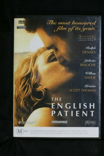 The English Patient (DVD, 2014) Ralph Fiennes,William Dafoe  R4  Pre-owned (D510