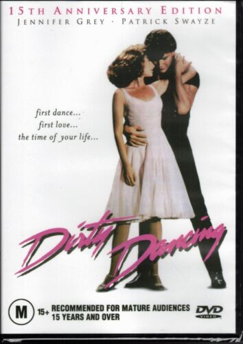 DIRTY DANCING DVD 15th Anniversary Edition Patrick Swayze NEW & SEALED Free Post