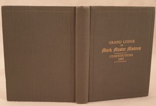 GRAND LODGE OF MARK MASTER MASONS ENGLAND WALES FREEMASONRY LUMLEYN MASSONERIA