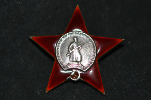 SOVIET RUSSIAN AWARD MEDAL ORDER OF RED STAR LOW NUMBER 274640 WITH RESOURCESMedals, Pins & Ribbons - 165608