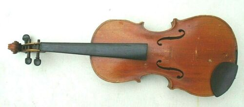 antique student size violin unmarked playable