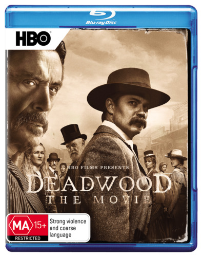 Deadwood The Movie blu ray RB New Sealed