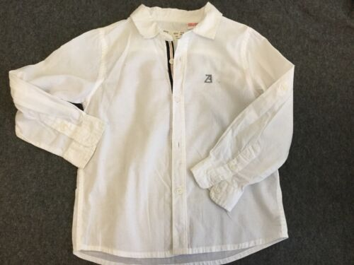 ZARA Boys Shirts Size 2-3Years  Great Condition White