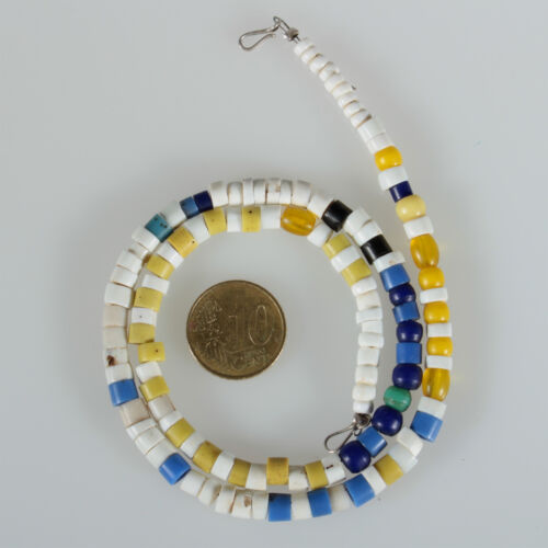 8899 Necklace Made from Old Glass Beads Bohemia Venice Trade Beads