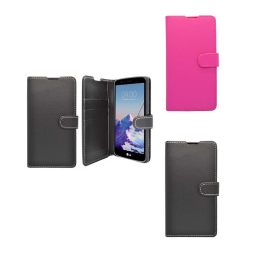 Case For LG Stylus 3 Wallet Flip PU Leather Stand Card Slot Pouch Phone Cover