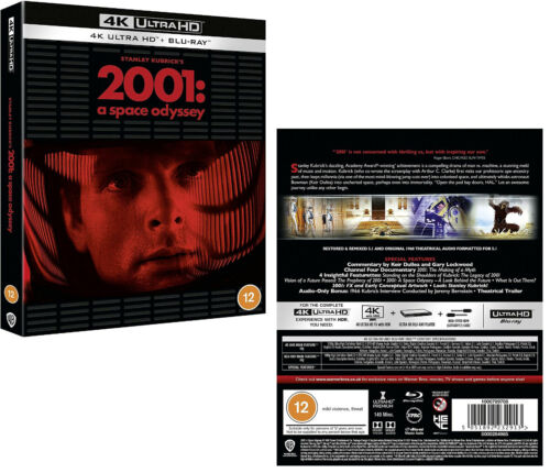2001: A SPACE ODYSSEY (1968-2018 Release): SPECIAL EDIT. NEW 4K UHD + BLU-RAY sp
