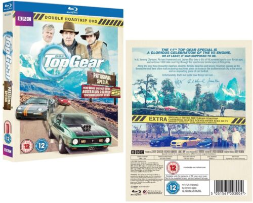 TOP GEAR UK 2014 2015 PATAGONIA Argentina / Chile + AUSTRALIA - BLU-RAY sp