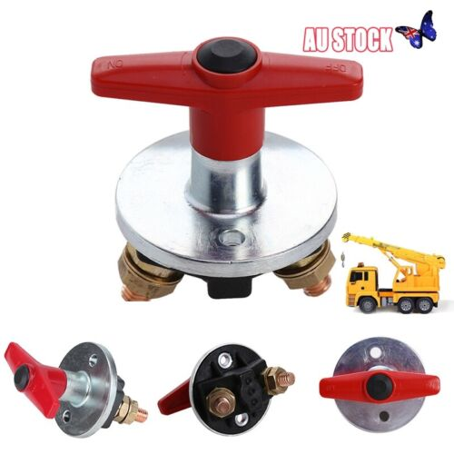 Battery Isolator Cut Off switch Metal Heavy Duty for Truck Lorry Tractor