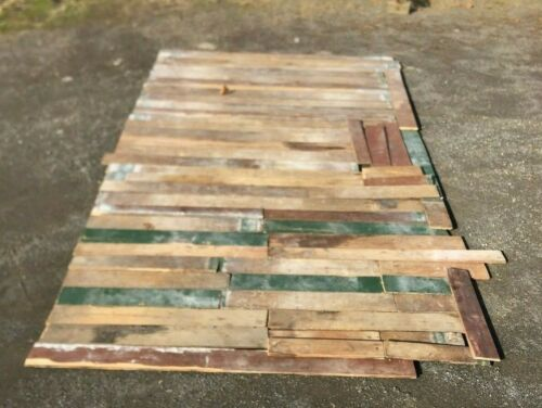 """Antique Pine Wide Plank 7/8"""" Tongue & Groove Flooring 175 sq ft 69-19B"""