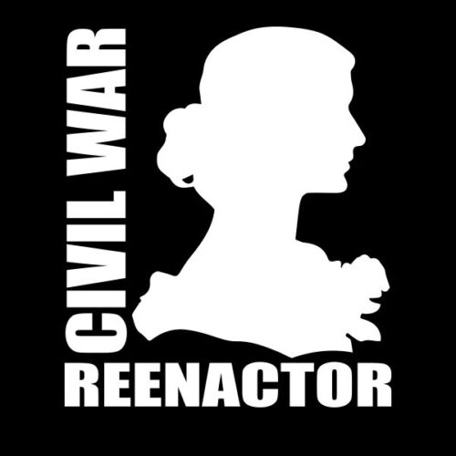 Civil War Woman Reenactor StickerOther Civil War-Related Items - 158427