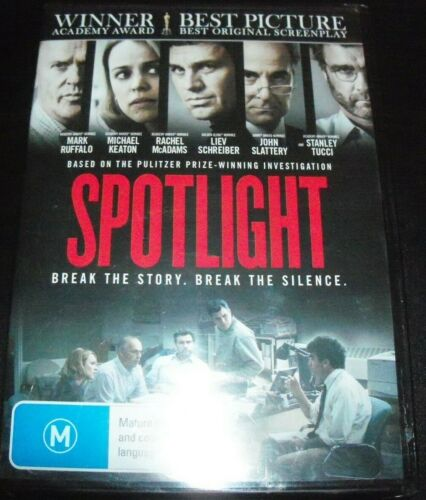 Spotlight (Mike Ruffalo Michael Keaton) (Australia Region 4) DVD - NEW