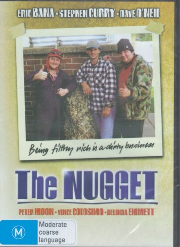 THE NUGGET DVD Eric Bana, Stephen Curry & Dave O'Neil NEW & SEALED Free Post