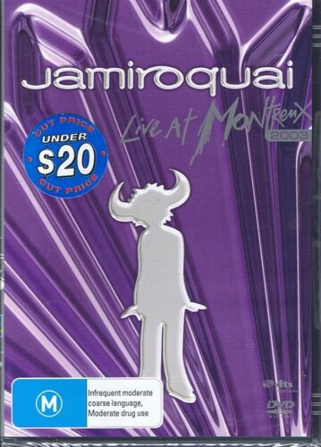 JAMIROQUAI Live At Montreux 2003 R4 DVD NEW & SEALED Free Post