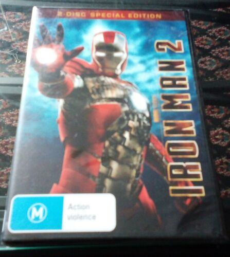 IRON MAN 2 DVD (2 disc special edition) x1