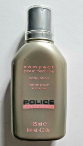 Police Interactive Perfumed Body Lotion 125ml (Made in Italy)
