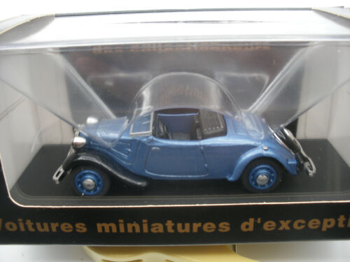 Voiture 1/43 ELIGOR Collection CEC V5457 CITROEN TRACTION 7cv Cabriolet 1936