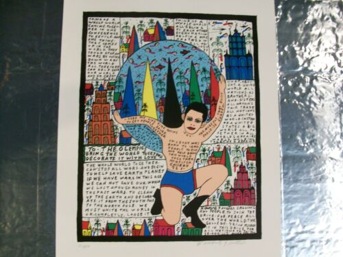HOWARD FINSTER  <br/> TO THE OLEMPICS (Olympics)