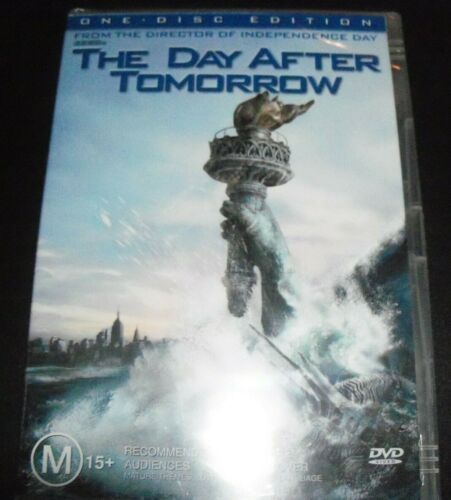 The Day After Tomorrow (Australia Reg 4) DVD – New