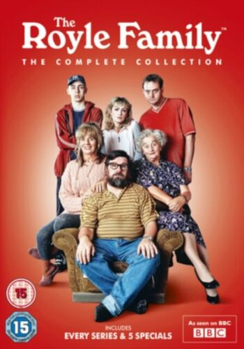 The Royle Family The Complete Collection DVD Box Set New & Sealed R2