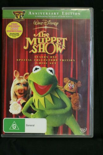 The Muppet Show: Season 1 (Kermit's 50th Anniversary)  - R4 - Pre-owned -(D126)