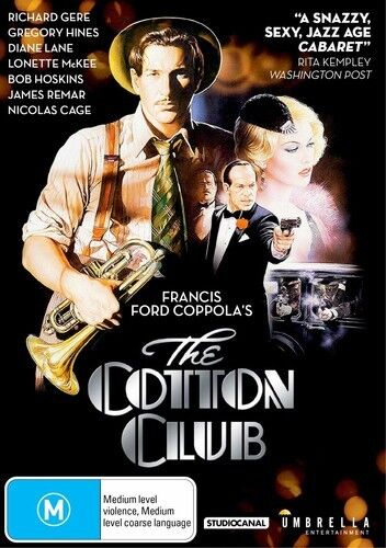 THE COTTON CLUB DVD ( RICHARD GERE - GREGORY HINES ) NEW AND SEALED