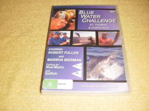 BLUE WATER CHALLENGE St.Thomas & Costa Rica DVD NEW & SEALED fishing R4