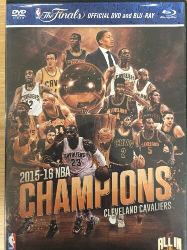 CLEVELAND CAVALIERS: 2015-16 NBA Champions DVD/BLURAY Excellent Cond *Region 1*