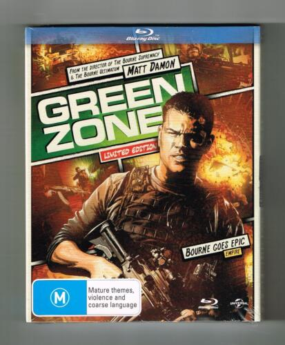 Green Zone Blu-ray (Limited Edition) Brand New & Sealed