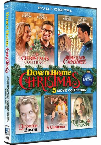 Down Home Christmas Collection 5 Movie Collection DVD R1 New & Sealed