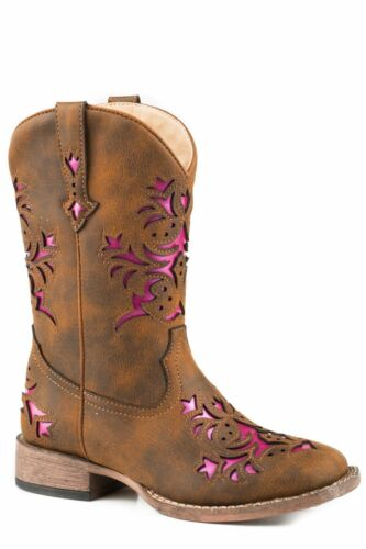 Girls Roper Lola Western Boots NEW