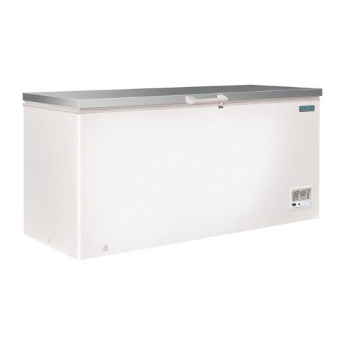 Polar G-Series Chest Freezer with Stainless Steel Lid 516Ltr