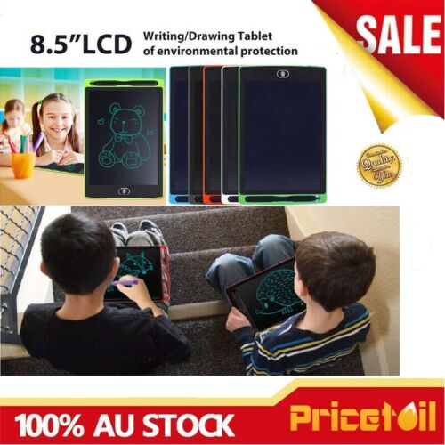 AU 8.5in LCD Writing Pad e-Writer Graphic Drawing Board Tablet Melbourne Stock