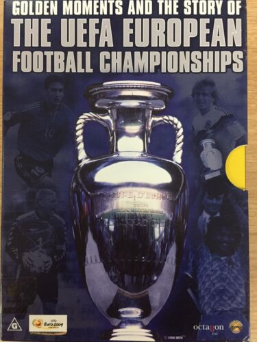 GOLDEN MOMENTS & STORY OF UEFA EUROPEAN FOOTBALL CHAMPIONSHIPS 2 x DVD Set