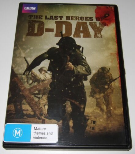The Last Heroes Of D-Day (DVD, 2015)