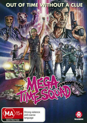 MEGA TIME SQUAD  - BRAND NEW SEALED - DVD - PAL ALL REGION!