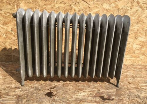 Antique Hot Water Radiator 15 Sections 26x37x9 Cast Iron Old Heating Vtg 117-20E