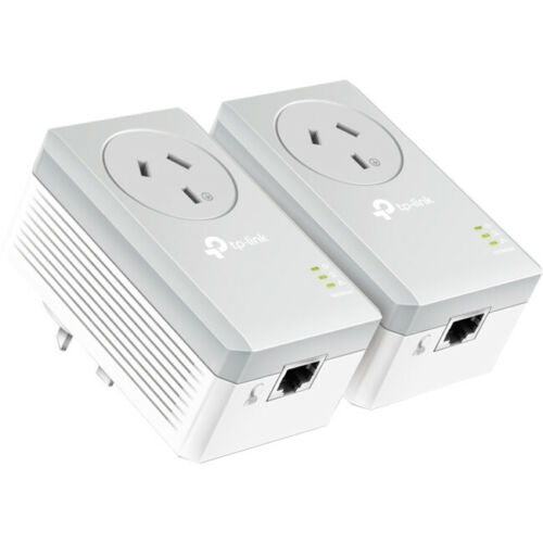 PA4010PKIT TP-LINK 600Mbps Powerline Adapter Kit Power Passthrough Data