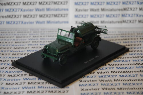 VOITURE JEEP AGRICOLE 1962 UNIVERSAL HOBBIES 1/43EME NEUF SOUS BLISTER
