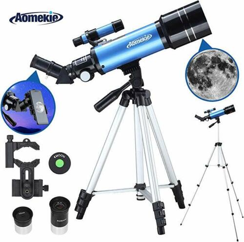 Monocular Telescope 40070 with Adjustable Tripod Phone Adapter for Moon Watching