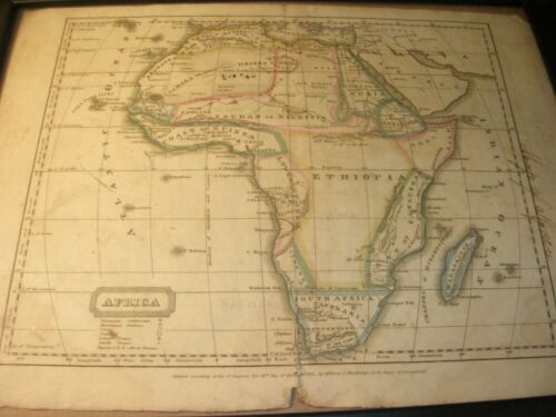 Antique Map - 1821 Map of Africa
