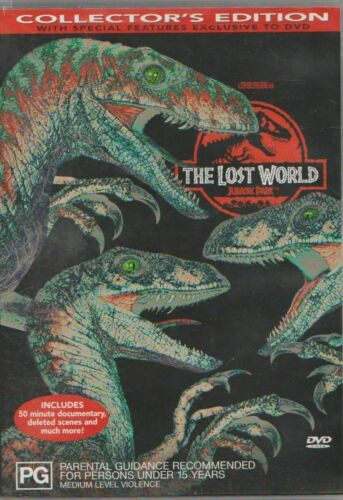 THE LOST WORLD Jurassic Park DVD Collectors Edition Special Features FastNFree
