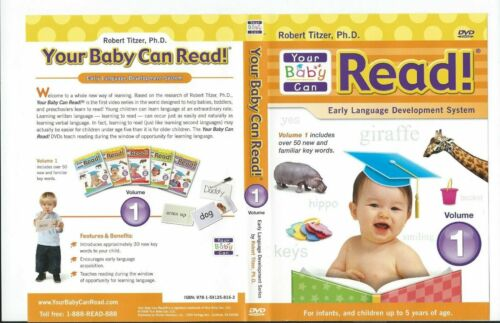 Your Baby Can Read DVD Early Language Development System 3 months to 5 years