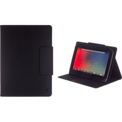 "M-Edge Universal Stealth Pro Keyboard Folio Case for 10"" Tablets, Black"